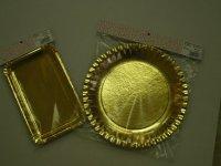 Arany tálcák függesztett kiskiszerelésben