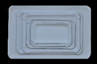 Szögletes kartontálcák hagyományos kartonból